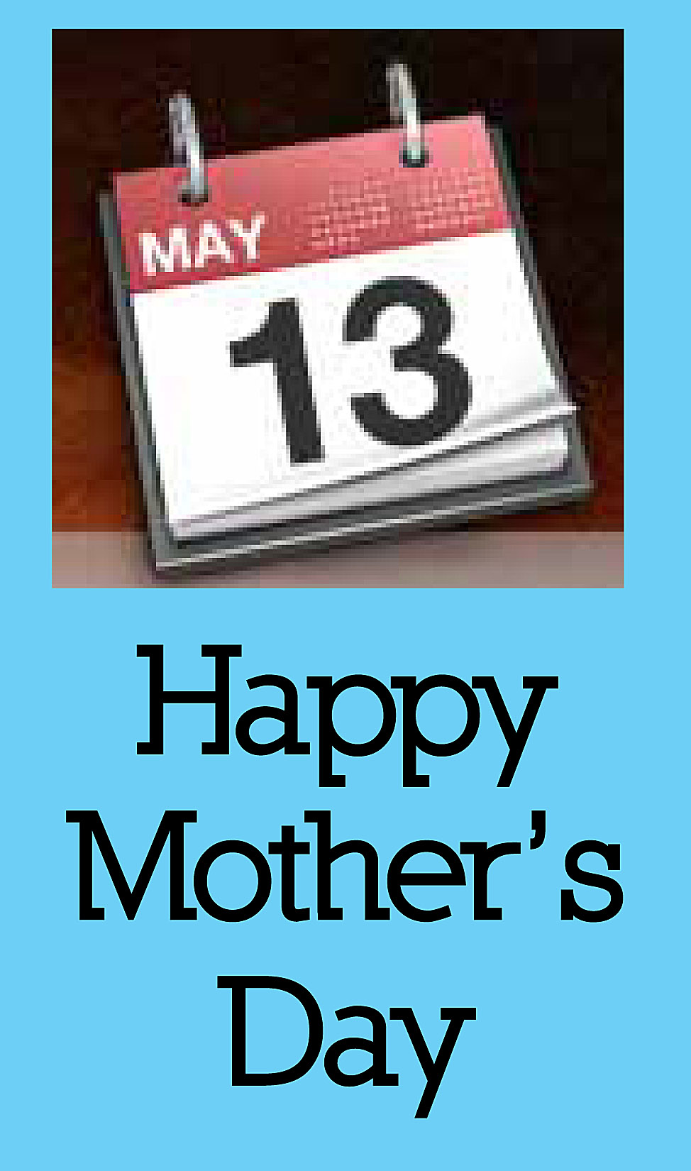 May mother s day