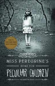 Miss Peregrine's Home for Peculiar Children was written by Ransom Riggs and published in 2011. Photo courtesy of quirkbooks.com.