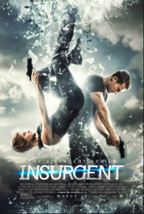 Insurgent was released in theaters on March 20, 2015. Photo from wikipedia.com with courtesy of fair use.