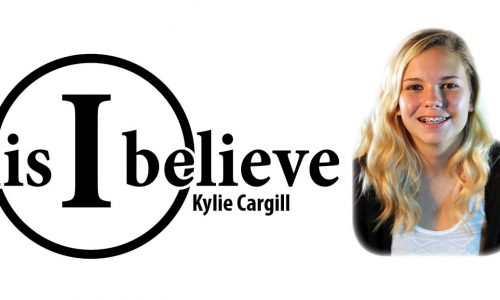 this i believe kylie