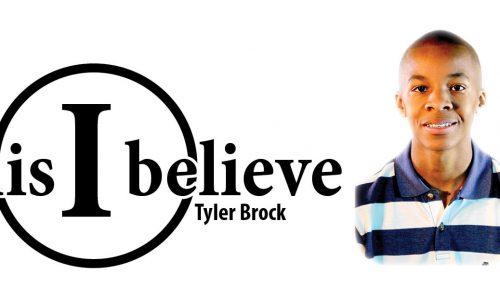 this i believe tyler